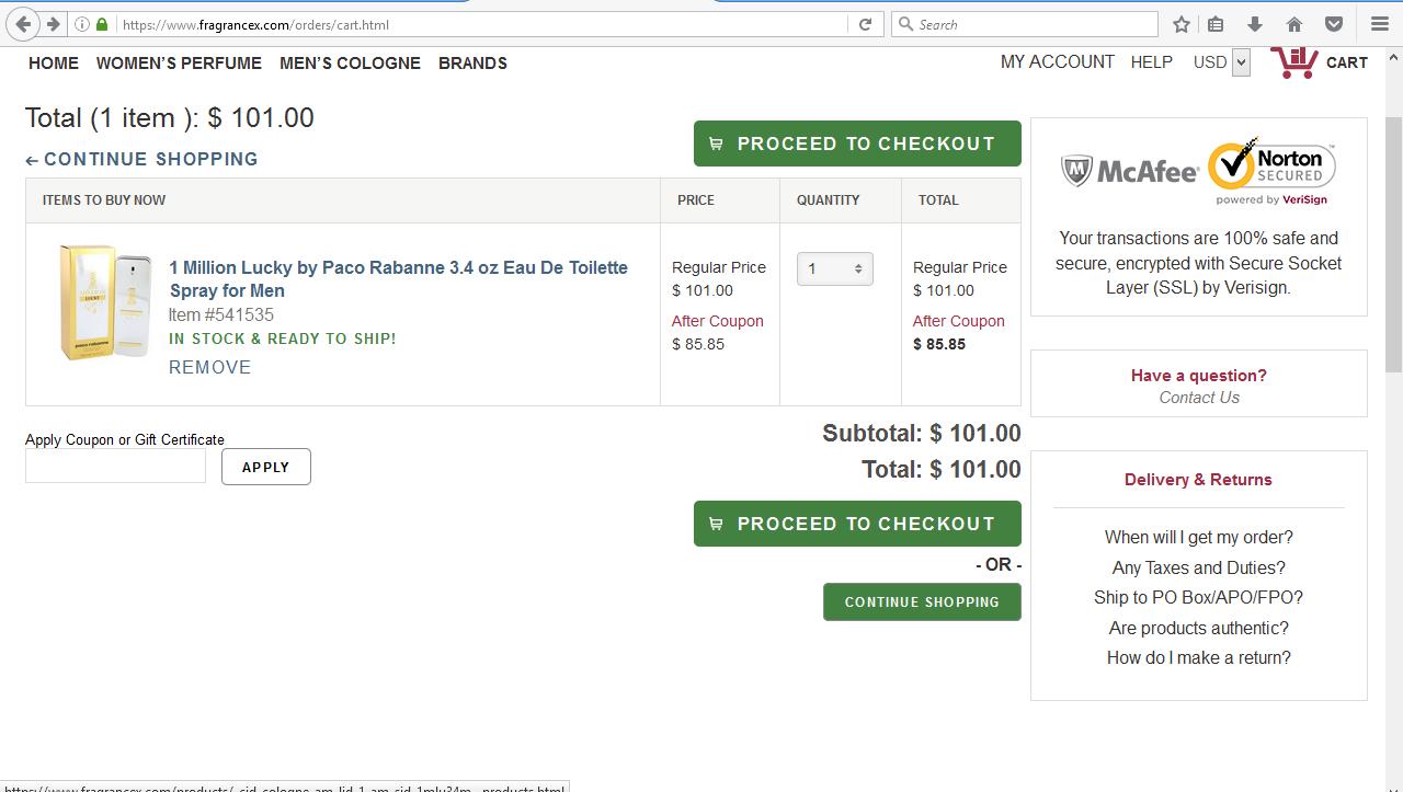 ba8f859c8 افضل موقع امريكي لبيع العطور الفرنسية الاصلية. 8- نضيف عطر ...