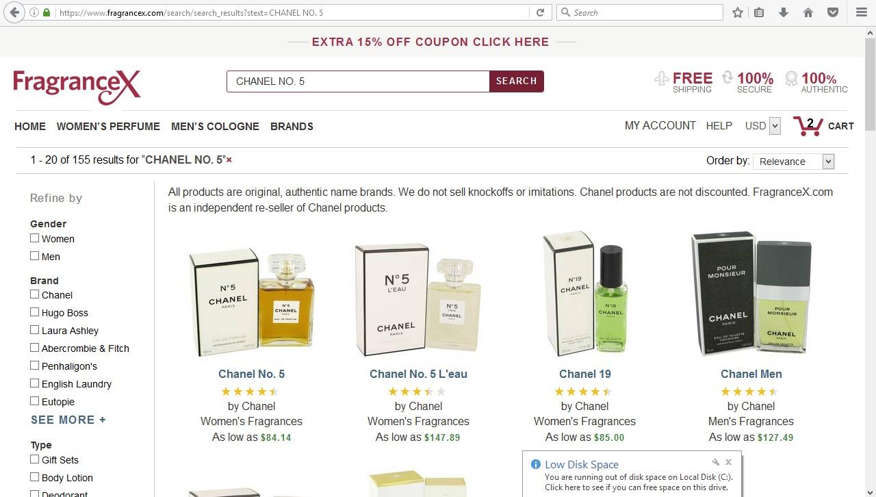 موقع fragrancex بالعربي
