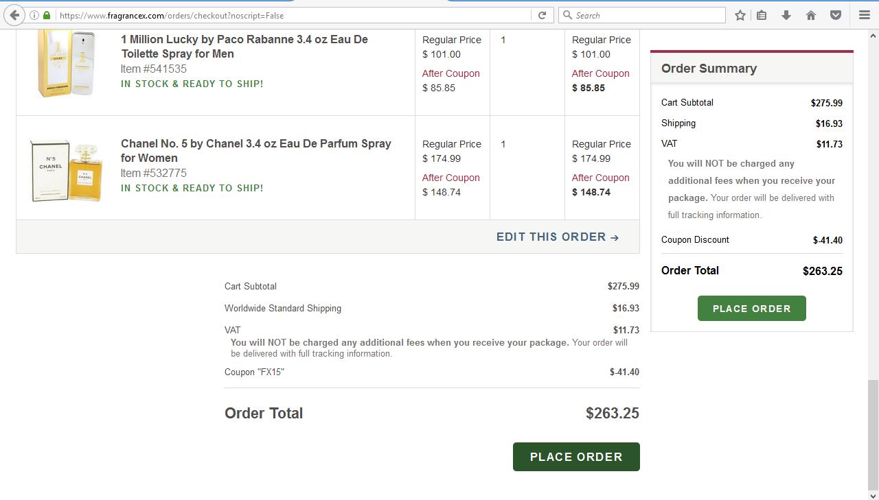 افضل موقع شراء بيع طلب fragrancex امريكي لبيع العطور الفرنسية